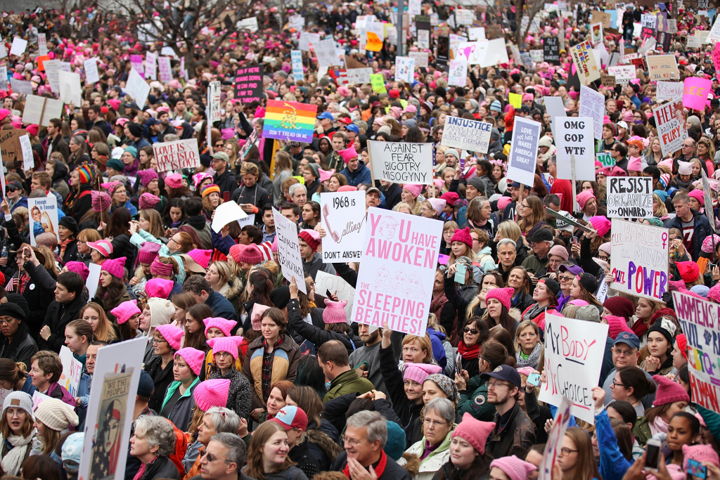 Women's March On Washington - March