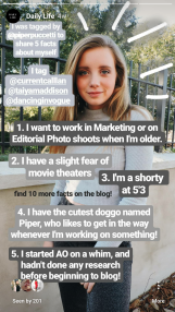 Some fun facts about me